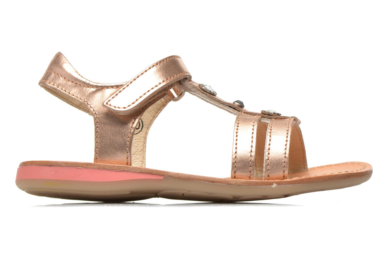 Sandals Noël Solène Pink back view
