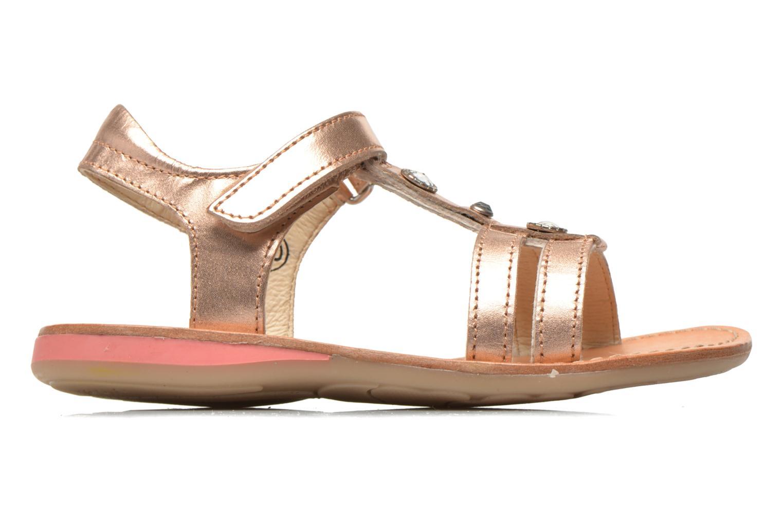 Sandales et nu-pieds Noël Solène Rose vue derrière