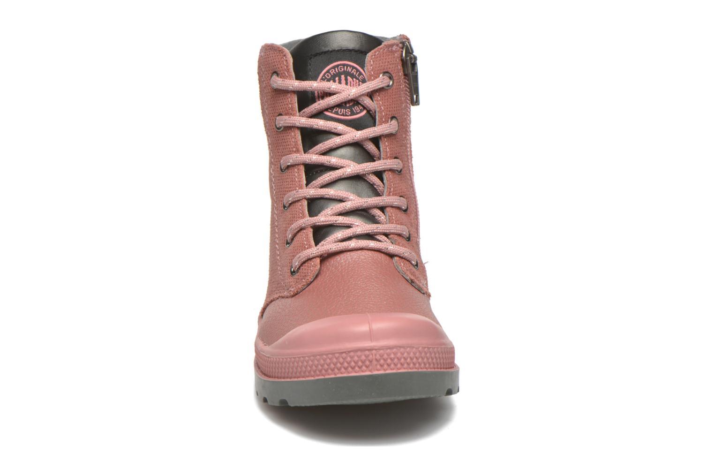Stiefeletten & Boots Palladium Wendy FL K rosa schuhe getragen