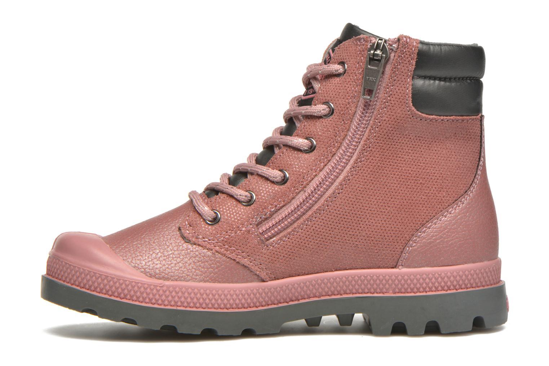 Stiefeletten & Boots Palladium Wendy FL K rosa ansicht von vorne