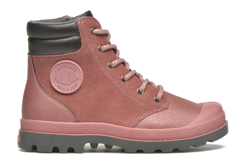 Ankle boots Palladium Wendy FL K Pink back view