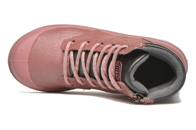 Stiefeletten & Boots Palladium Wendy FL K rosa ansicht von links