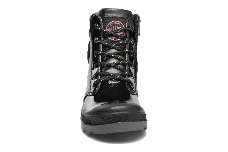 Bottines et boots Palladium Wendy Verni K Noir vue portées chaussures