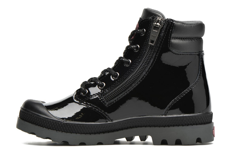Bottines et boots Palladium Wendy Verni K Noir vue face