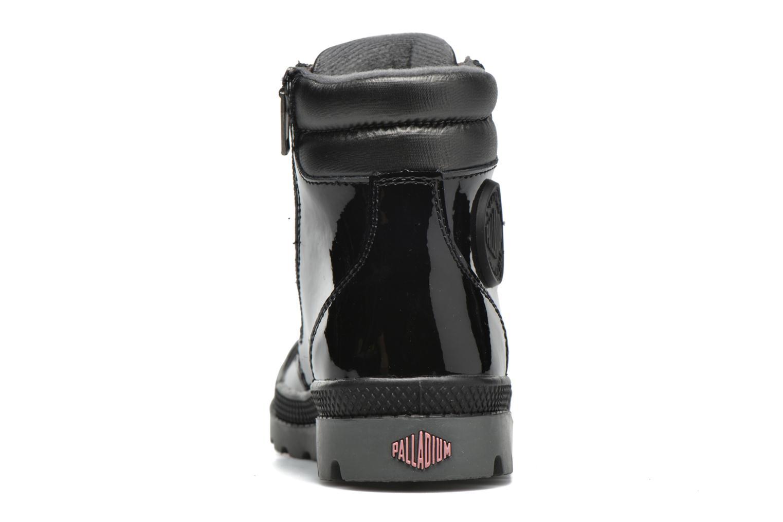 Bottines et boots Palladium Wendy Verni K Noir vue droite