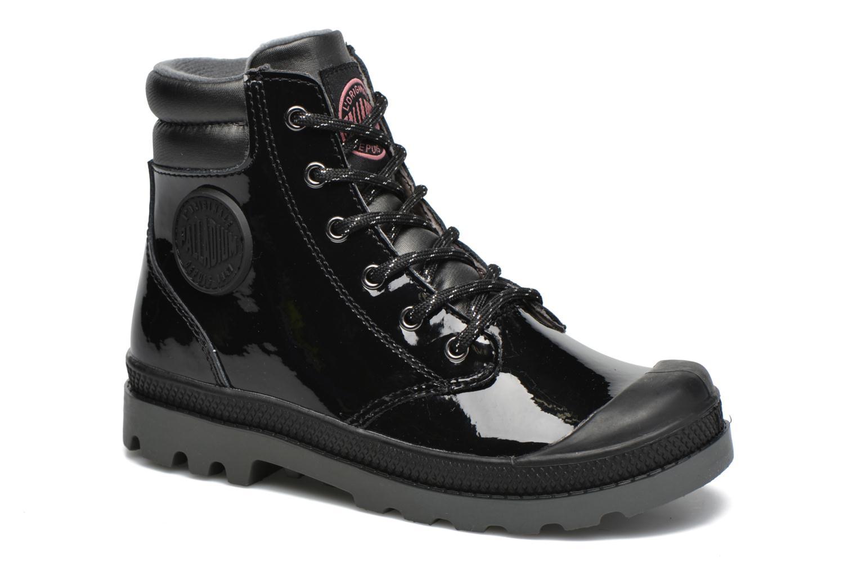 Bottines et boots Palladium Wendy Verni K Noir vue détail/paire