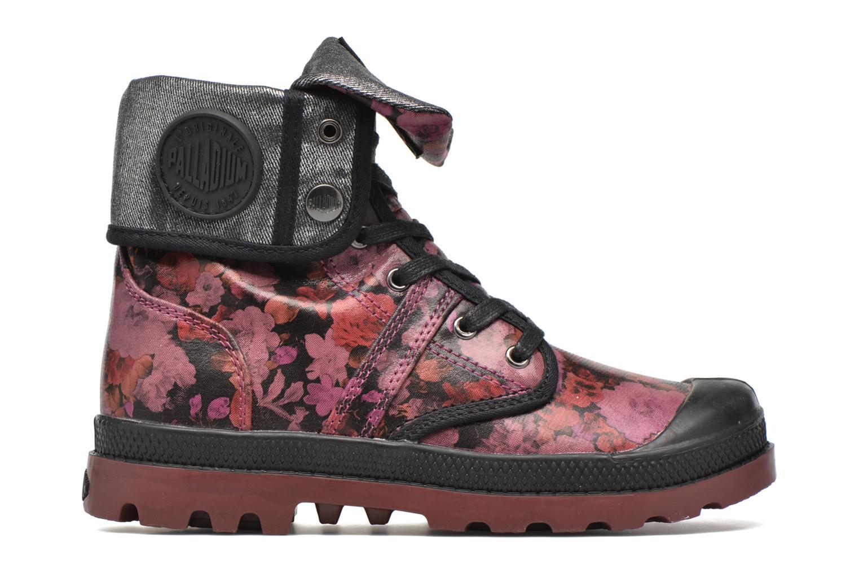 Bottines et boots Palladium Baggy FLO K Violet vue derrière