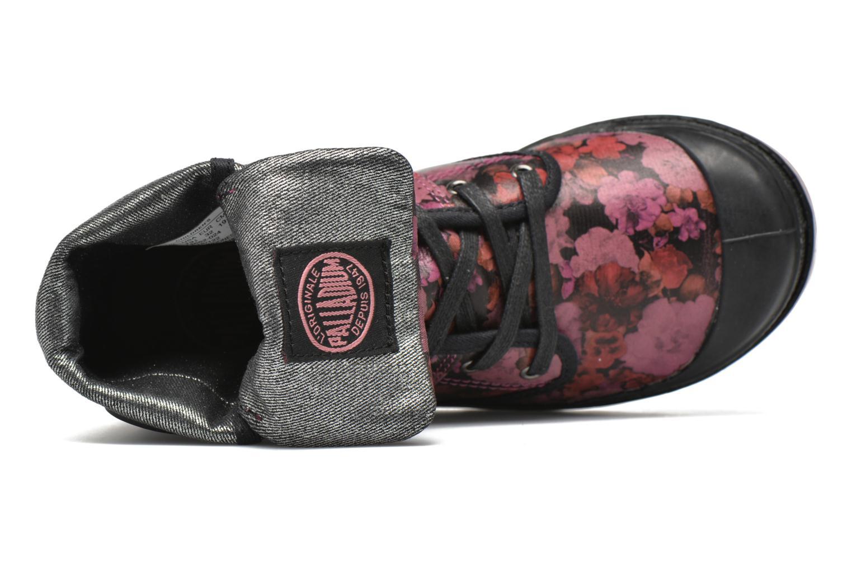 Bottines et boots Palladium Baggy FLO K Violet vue gauche
