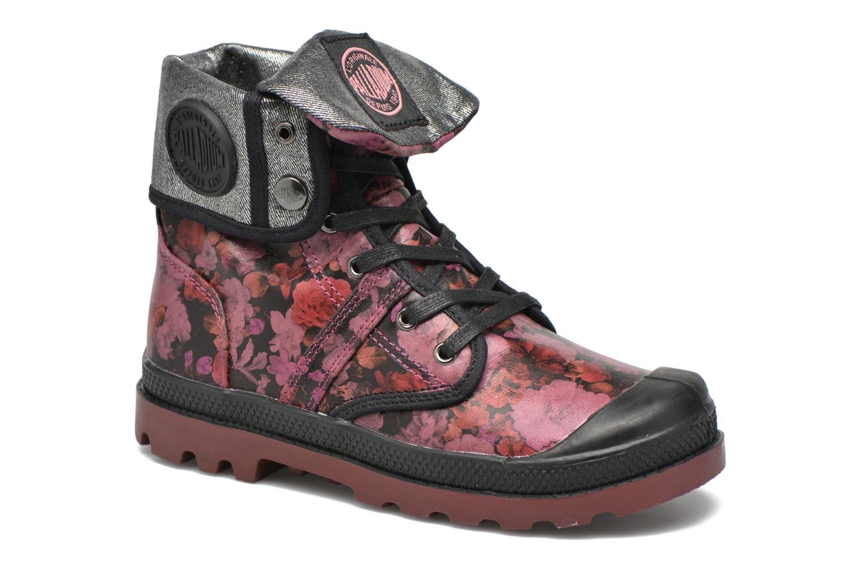 Bottines et boots Palladium Baggy FLO K Violet vue détail/paire