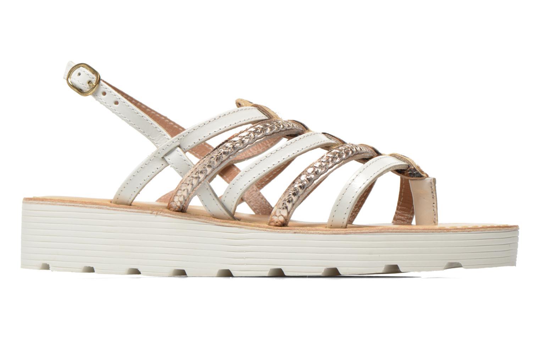 Sandales et nu-pieds Elizabeth Stuart Hicar 885 Blanc vue derrière