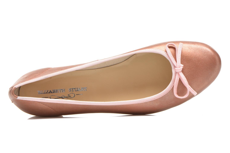 Ballerinas Elizabeth Stuart Josy 391 rosa ansicht von links