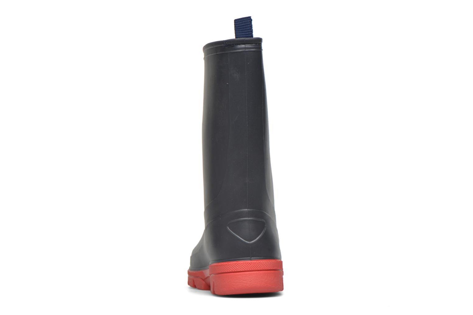 Boots & wellies SARENZA POP Virain kid Blue view from the right