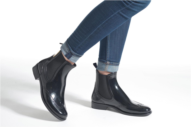 Bottines et boots Be Only Madisson Noir vue bas / vue portée sac