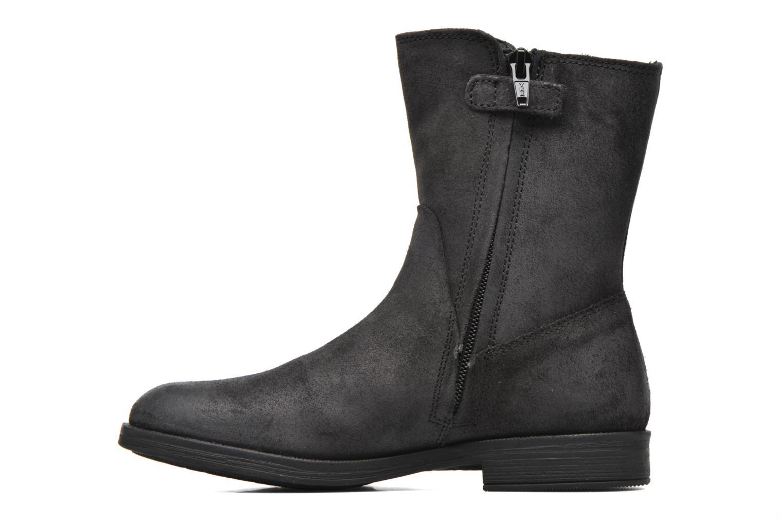 Bottines et boots Geox JR Agata J5449G Noir vue face