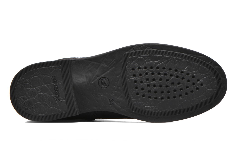 Bottines et boots Geox JR Agata J5449G Noir vue haut