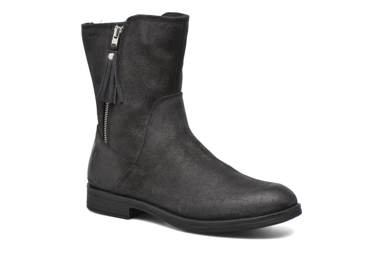 Bottines et boots Geox JR Agata J5449G Noir vue détail/paire