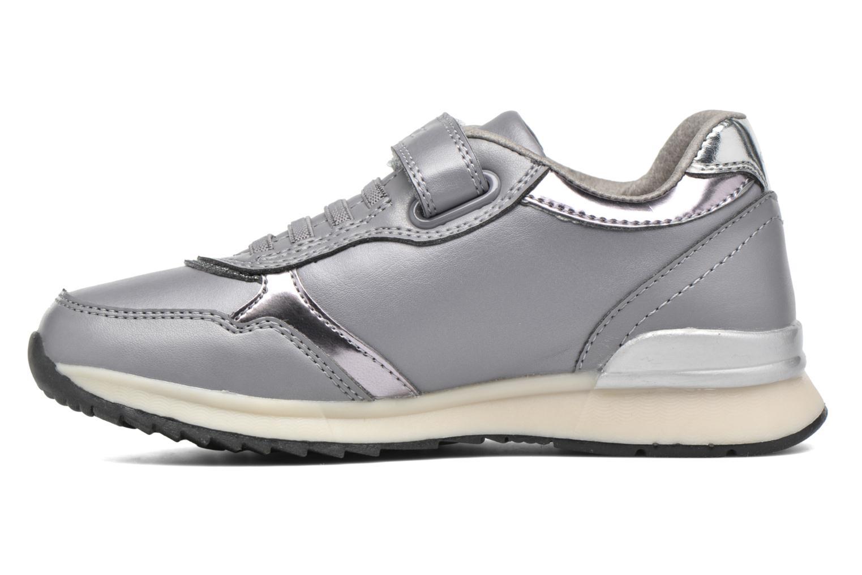 Sneakers Geox J Maisie Girl J5403C Grijs voorkant