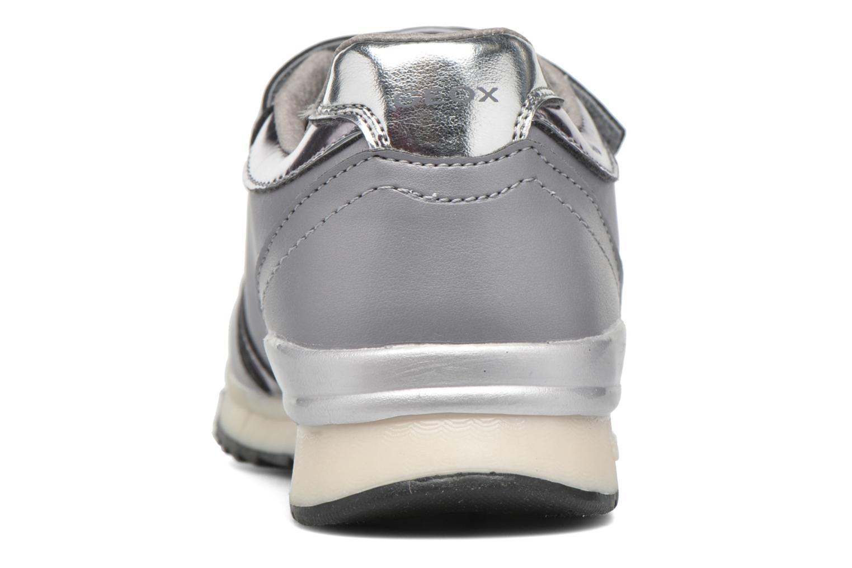 Sneakers Geox J Maisie Girl J5403C Grijs rechts