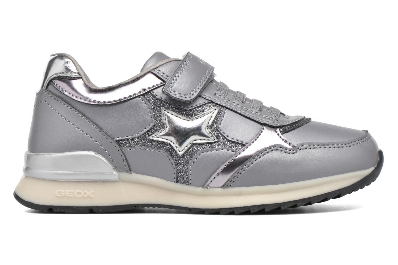 Sneakers Geox J Maisie Girl J5403C Grijs achterkant