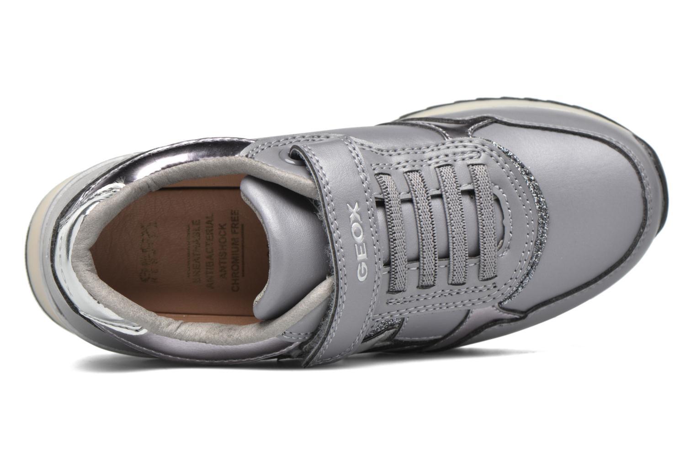 Sneakers Geox J Maisie Girl J5403C Grijs links