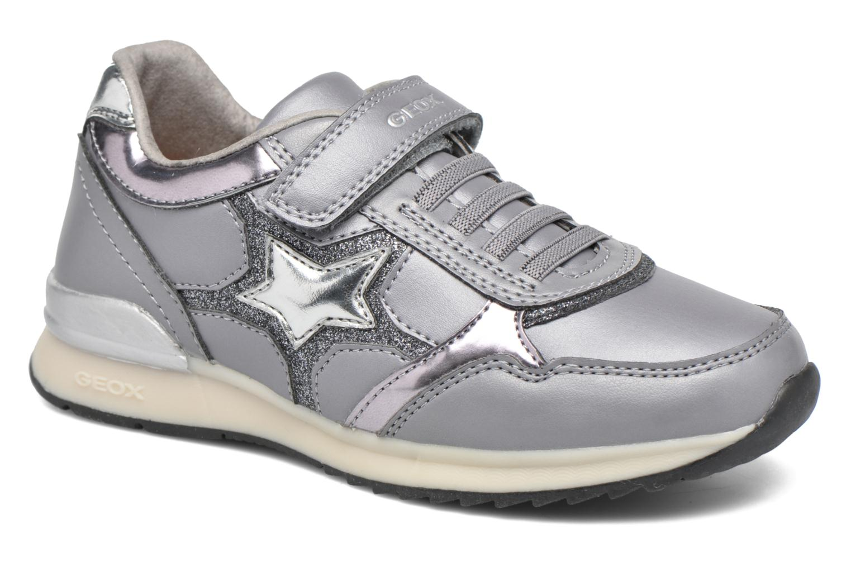 Sneakers Geox J Maisie Girl J5403C Grijs detail