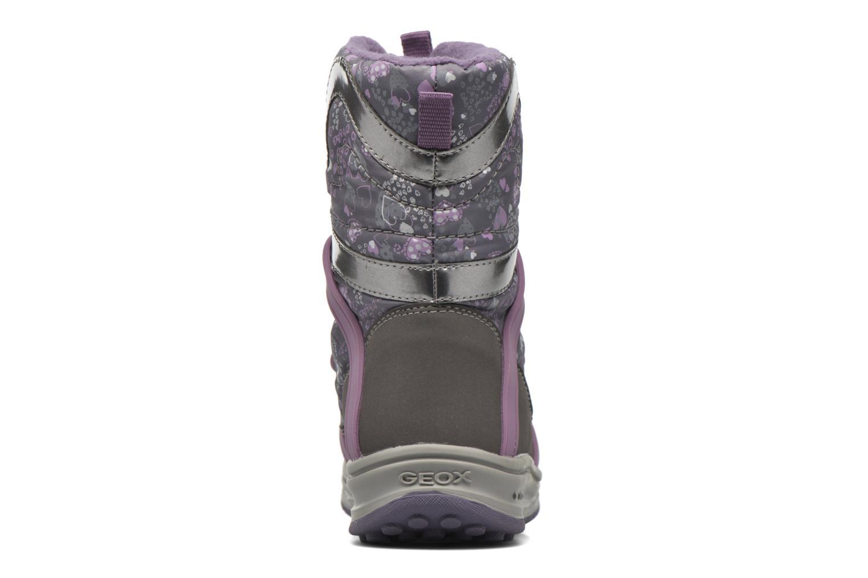 J Roby B Girl ABX J5418B Dk Grey/Lilac