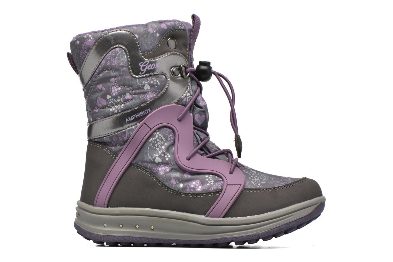 Bottines et boots Geox J Roby B Girl ABX J5418B Gris vue derrière