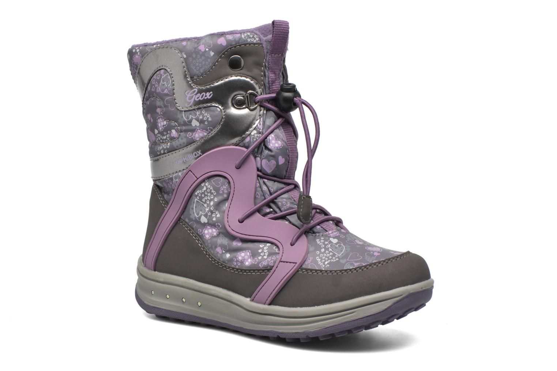 Bottines et boots Geox J Roby B Girl ABX J5418B Gris vue détail/paire