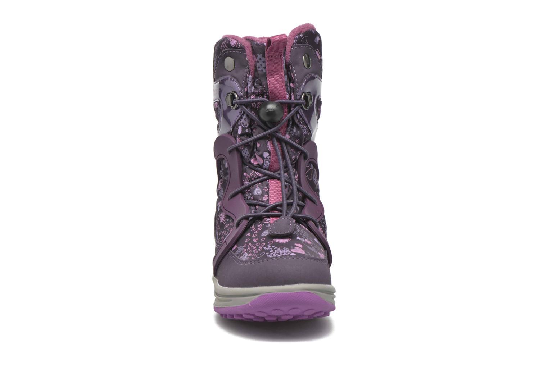 Bottines et boots Geox J Roby B Girl ABX J5418B Violet vue portées chaussures