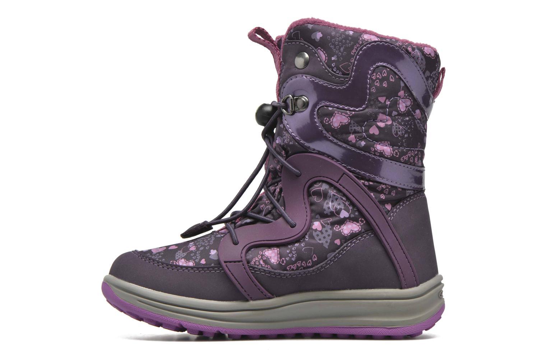 Bottines et boots Geox J Roby B Girl ABX J5418B Violet vue face