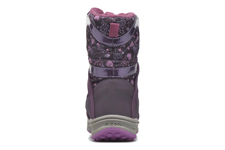 Bottines et boots Geox J Roby B Girl ABX J5418B Violet vue droite