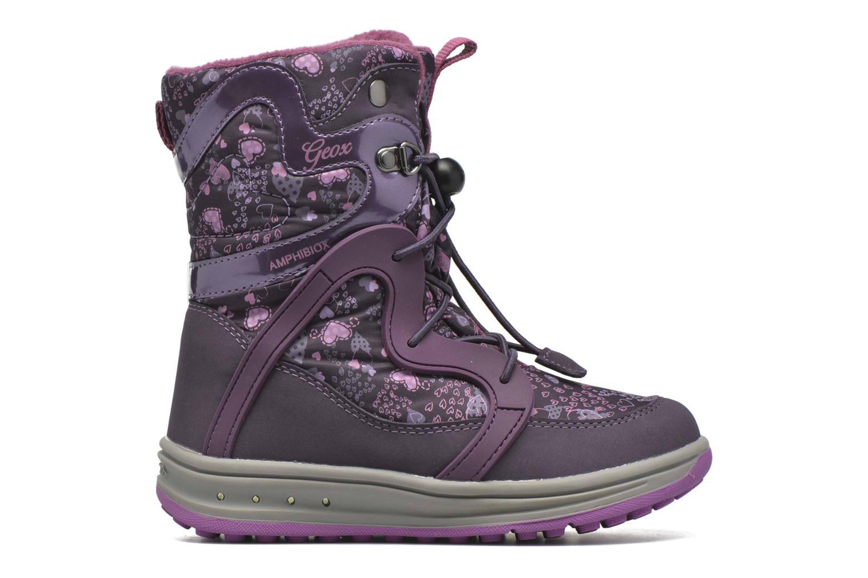 Bottines et boots Geox J Roby B Girl ABX J5418B Violet vue derrière