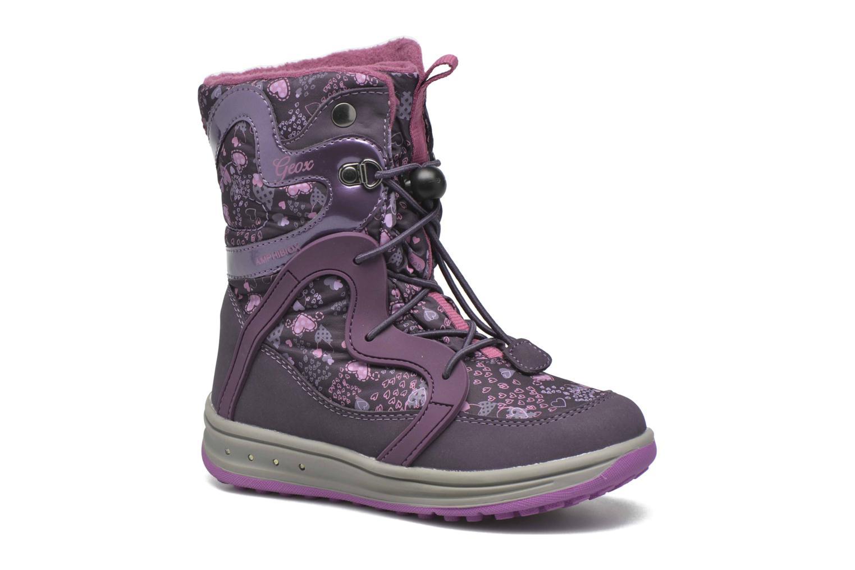 Bottines et boots Geox J Roby B Girl ABX J5418B Violet vue détail/paire
