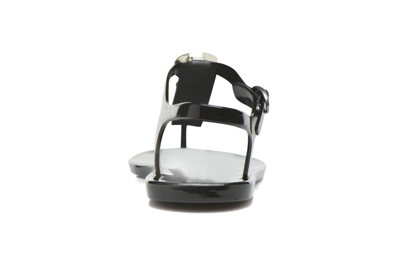 Sandales et nu-pieds Gioseppo Azzurra Noir vue droite