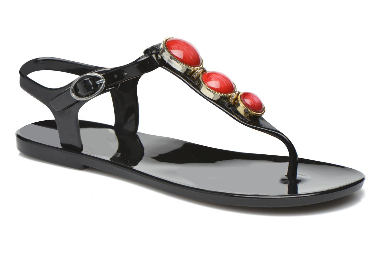 Sandales et nu-pieds Gioseppo Azzurra Noir vue détail/paire