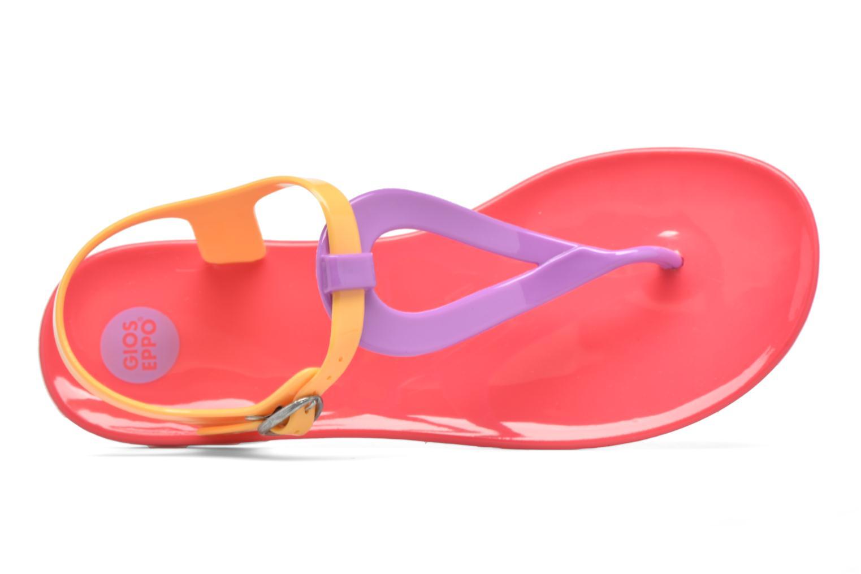 Sandales et nu-pieds Gioseppo Artis Multicolore vue gauche