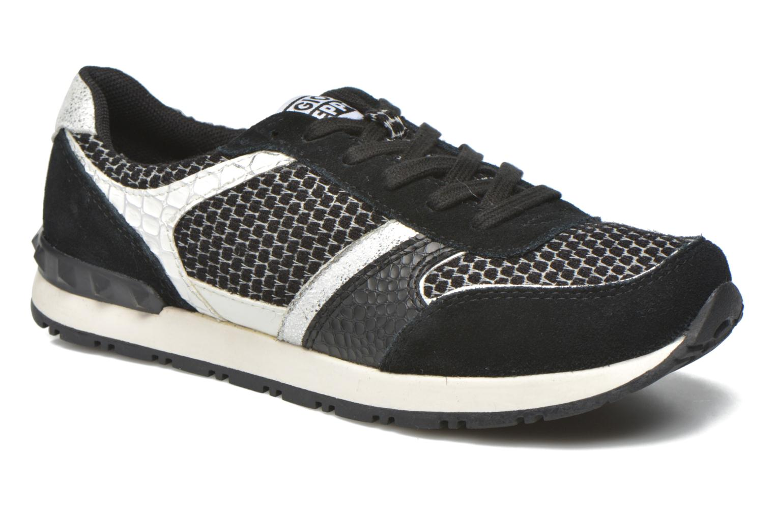 Trainers Gioseppo Onamist Black detailed view/ Pair view
