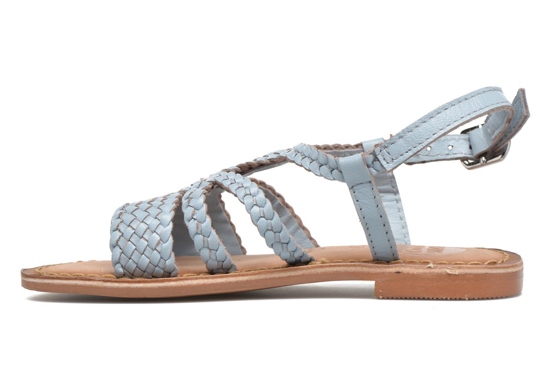 Sandales et nu-pieds Gioseppo Jacinthe Bleu vue face