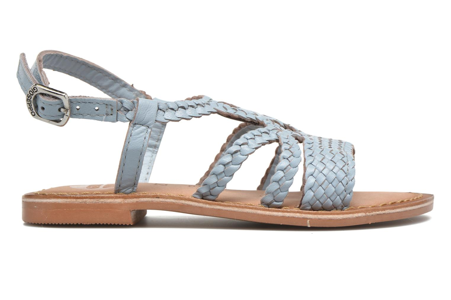 Sandals Gioseppo Jacinthe Blue back view