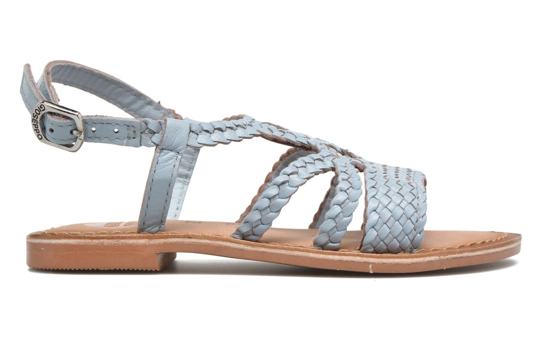 Sandali e scarpe aperte Gioseppo Jacinthe Azzurro immagine posteriore