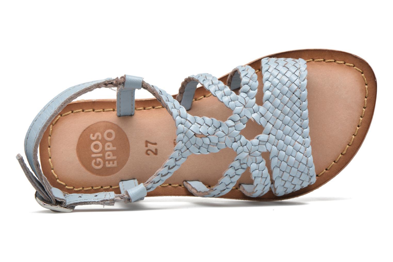 Sandales et nu-pieds Gioseppo Jacinthe Bleu vue gauche