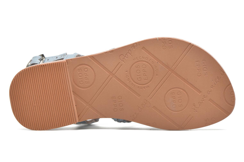 Sandales et nu-pieds Gioseppo Jacinthe Bleu vue haut