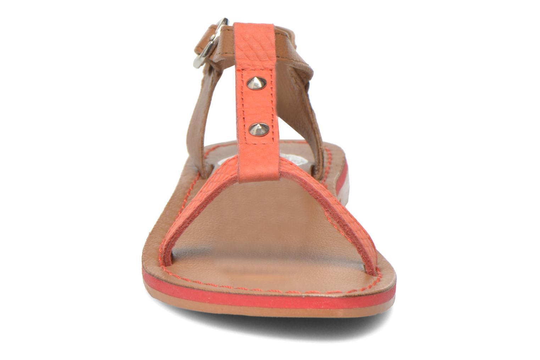 Sandales et nu-pieds Gioseppo Rose Rose vue portées chaussures