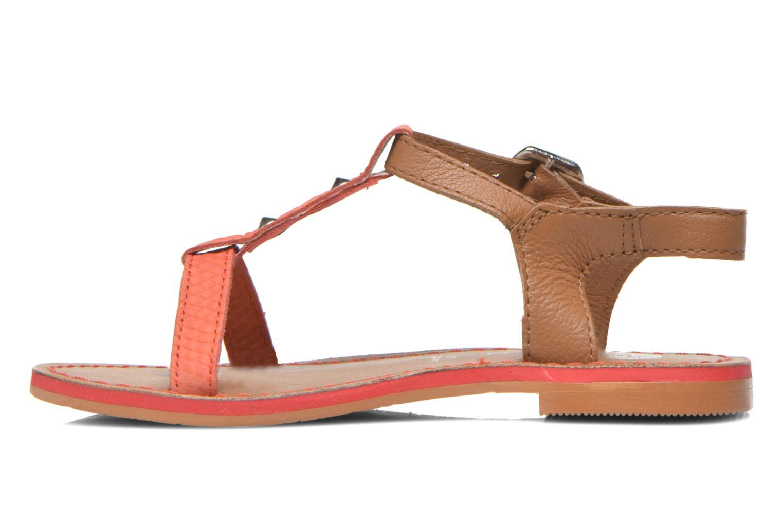 Sandales et nu-pieds Gioseppo Rose Rose vue face