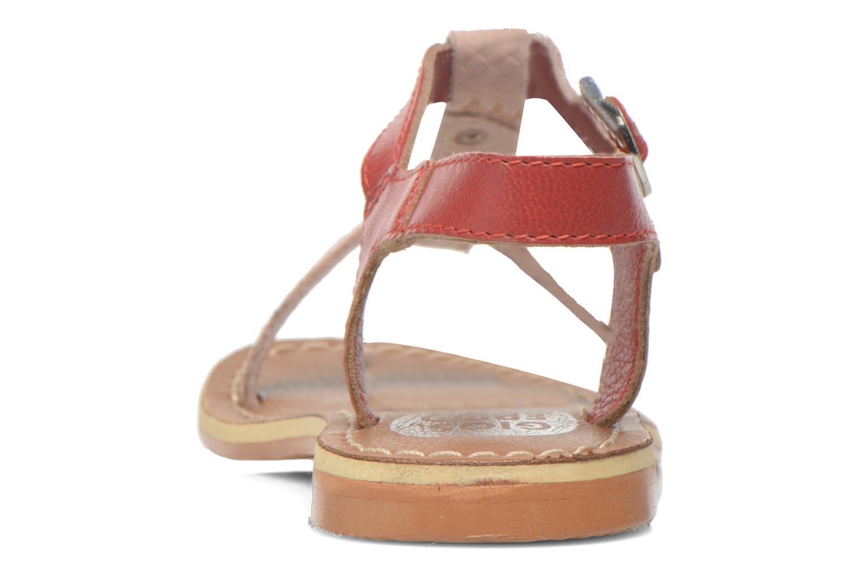 Sandales et nu-pieds Gioseppo Rose Rose vue droite