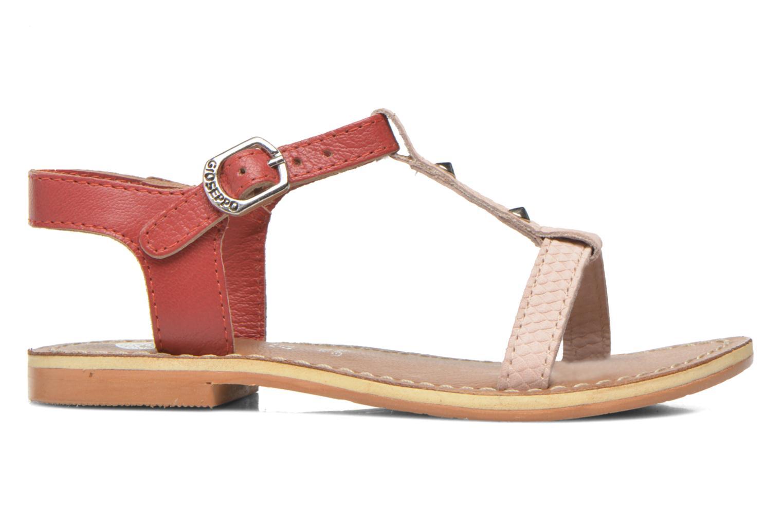 Sandales et nu-pieds Gioseppo Rose Rose vue derrière