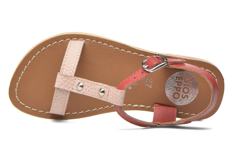 Sandales et nu-pieds Gioseppo Rose Rose vue gauche