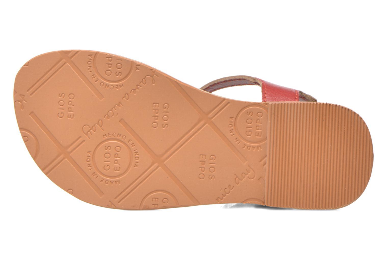 Sandales et nu-pieds Gioseppo Rose Rose vue haut