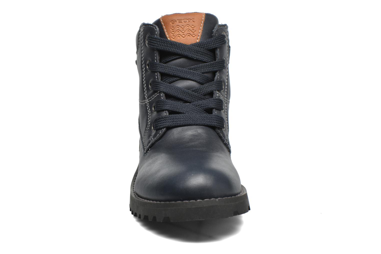 Bottines et boots Geox J Axel B Boy ABX J44N9A Bleu vue portées chaussures