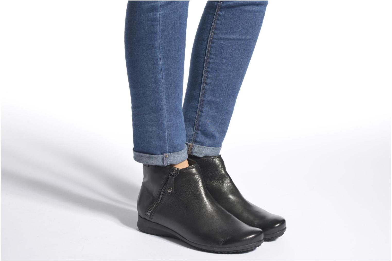 Bottines et boots Mephisto Filipina Bleu vue bas / vue portée sac